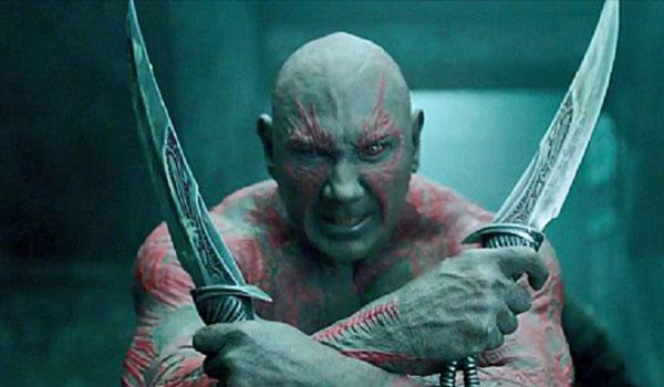 Drax sleeping in Infinity War