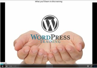 Video Tutorial: Blogging with WordPress 3.6 Training