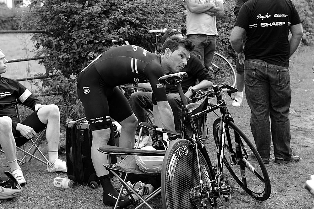 Graham Briggs, Rossington Evening 10-mile time trial, August 2011
