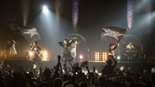 Babymetal performing at Wembley Arena Metal Hammer 2016