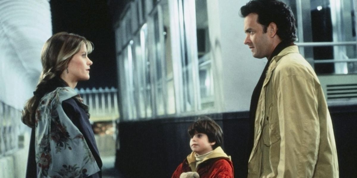 Meg Ryan, Ross Malinger, and Tom Hanks in Sleepless in Seattle