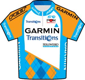 Garmin-Transitions jersey Tour de France 2010