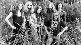Lynyrd Skynyrd in 1975