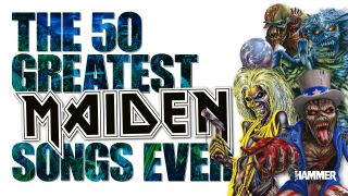 An illustration of the 50 greatest iron maiden songs of all time