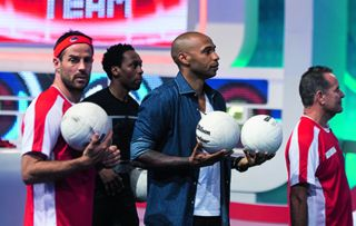 James Corden, Freddie Flintoff, Jack Whitehall and Jamie Redknapp team up for a special Premier League-themed edition of the comedy sports panel game