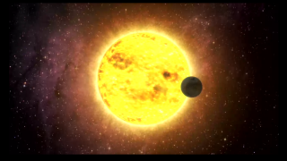 Exoplanet dimming stars