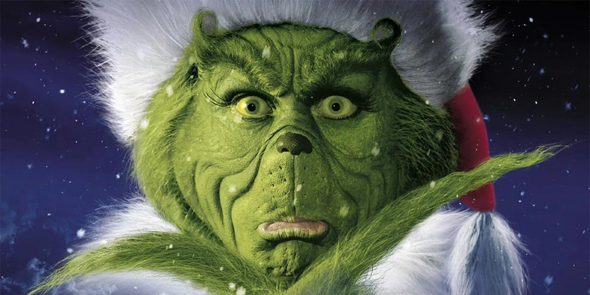 Jim Carrey - How the Grinch Stole Christmas Poster
