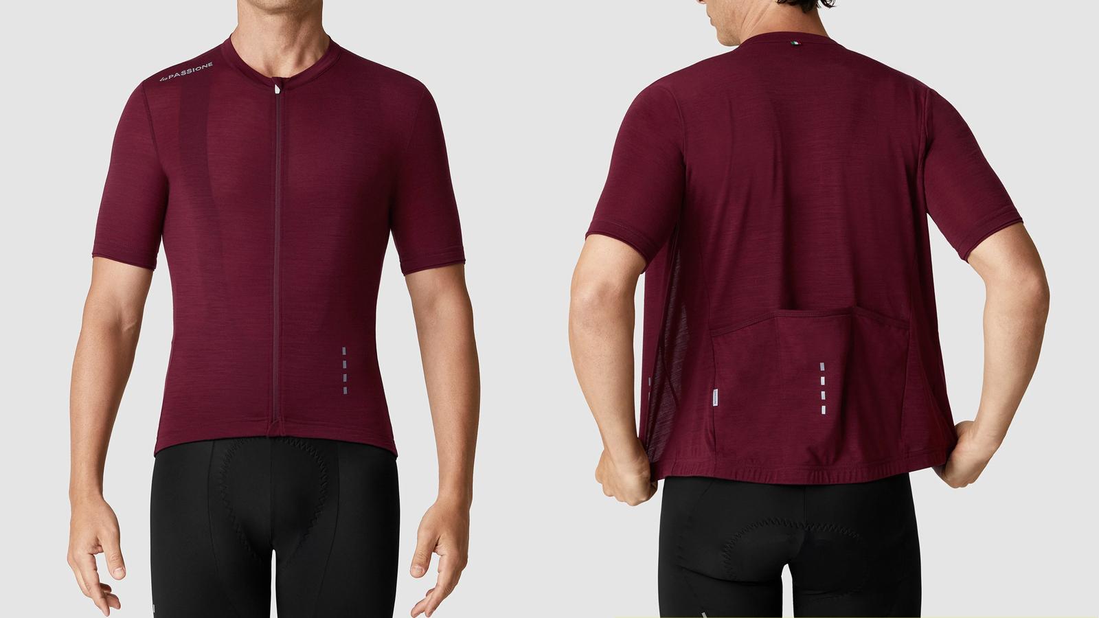 La Passione Merino jersey