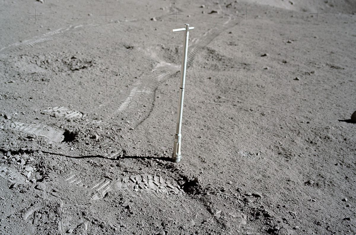 NASA to Break Seal on Apollo Moon Rock Samples for Scientific Study