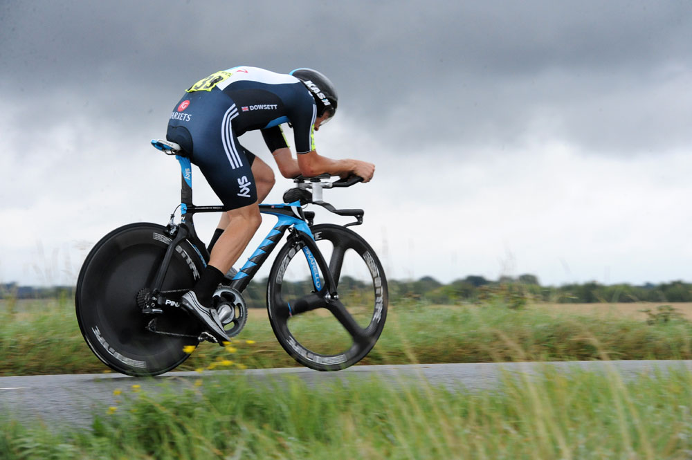 Alex Dowsett, British Time Trial Championship 2011
