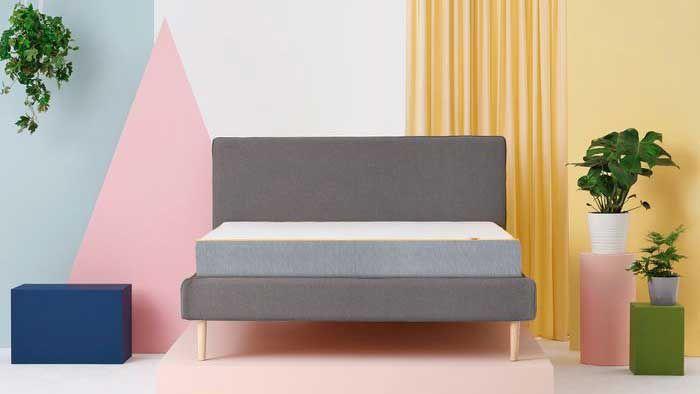 Eve mattress discount code: mattress on bed in room
