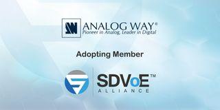 Analog Way joins SDVoE