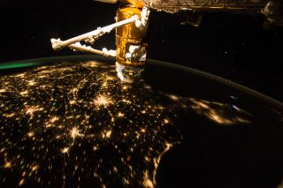 US from ISS by Astronaut Scott Kelly