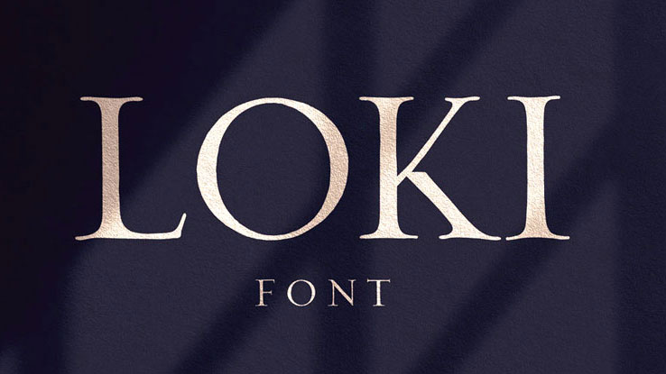Best free fonts: Loki