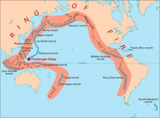 Subduction zones, earthquakes
