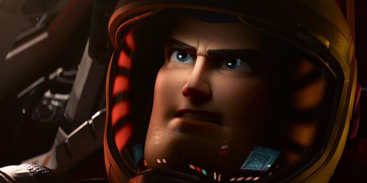 Buzz Lightyear (Chris Evans) in Lightyear