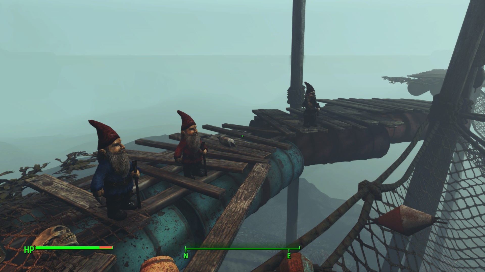 Fallout 4 snorkeler returns to chart Far Harbor's hidden depths