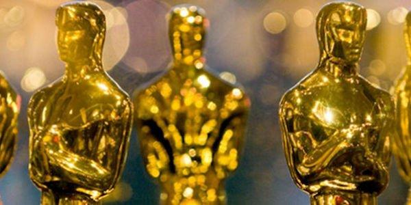 Golden Oscars statuettes