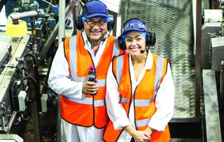 The series looking inside Britain's largest food processing factories concludes with Gregg Wallace visiting Ribena's Gloucestershire factory.
