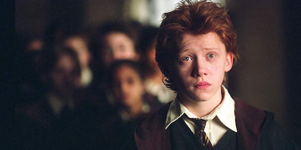 Rupert Grint as Ron Weasley in Harry Potter and the Prisoner as Azkaban