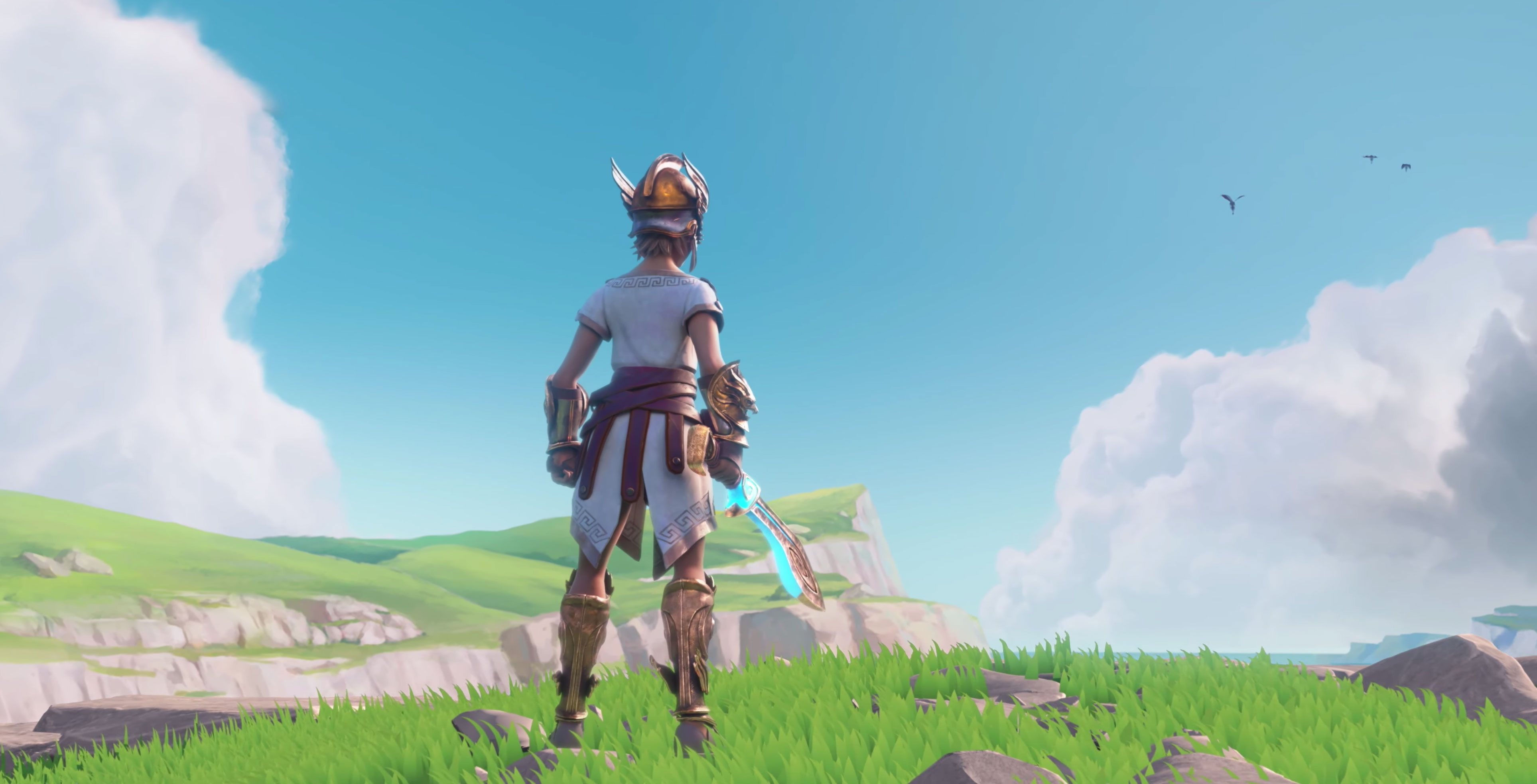 Gods & Monsters is an open-world RPG with stamina and resource management | PC Gamer