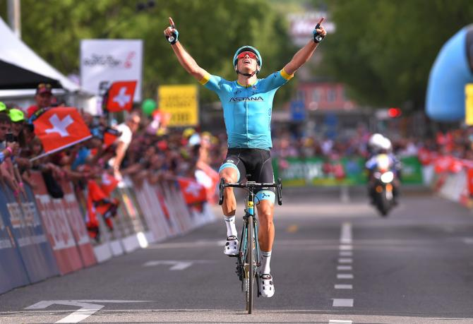 Jakob Fuglsang wins stage 4 at the Tour de Romandie