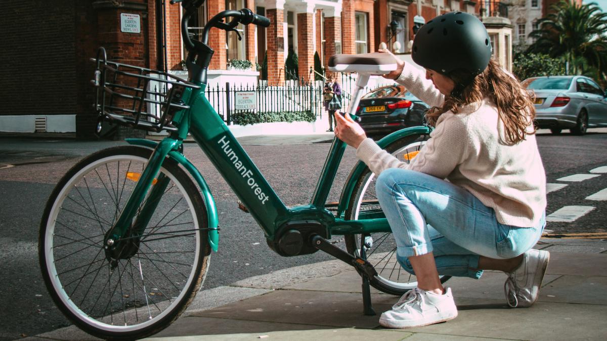 HumanForest phát hành 200 xe đạp điện tử mới ở London để bạn đi xe hoàn toàn miễn phí