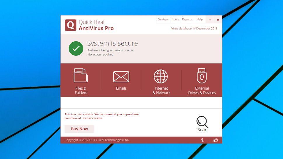 Quick Heal AntiVirus Pro review | TechRadar