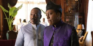 Eddie Murphy and Arsenio Hall in Coming 2 America