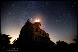 2012 Perseid Meteors over Southern New Jersey