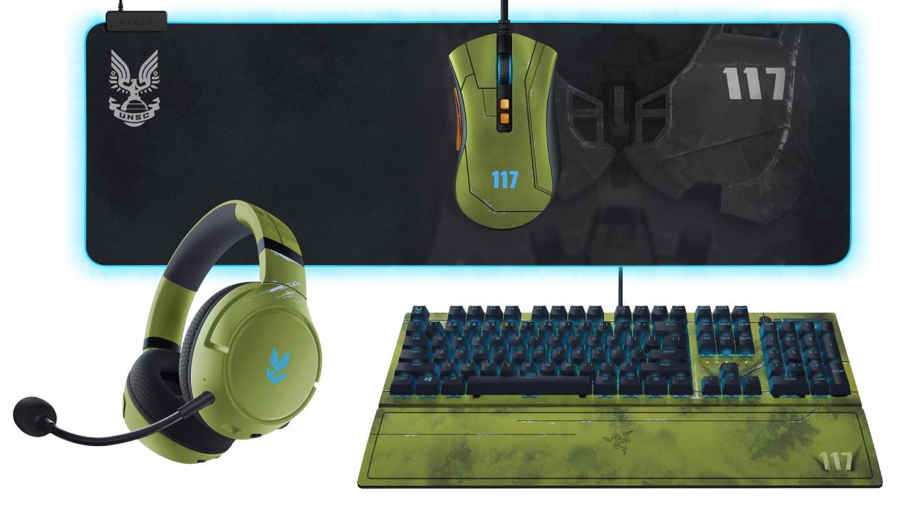 Halo Infinite Razer peripherals
