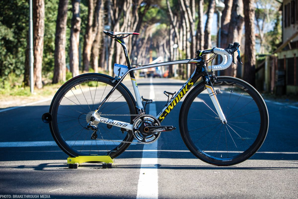 Alberto Contador's 2015 Specialized S-Works Tarmac