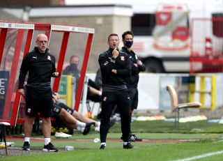 Swindon Town v Coventry City – Preseason Friendly – County Ground