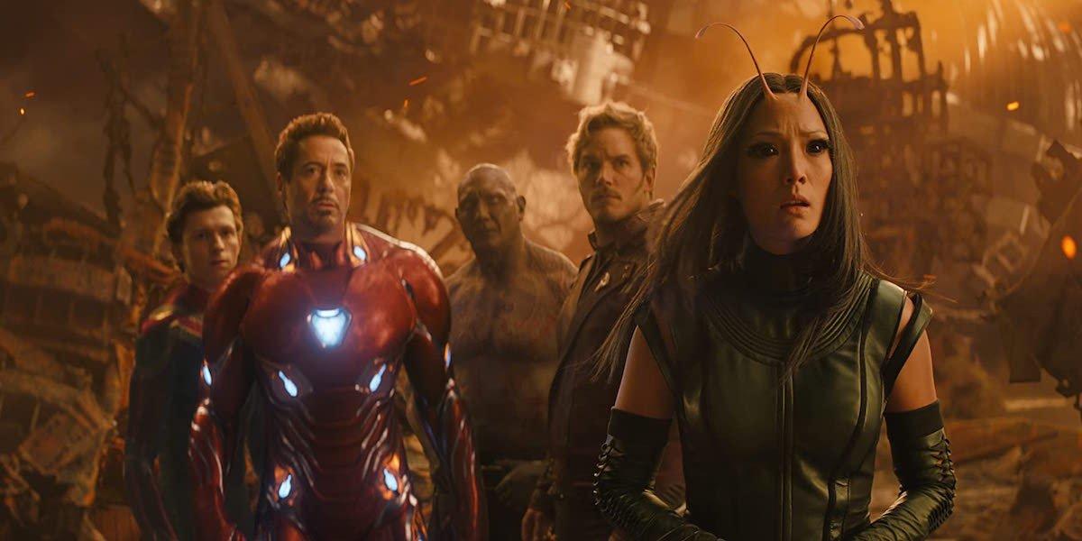 Avengers: Infinity War characters on Titan