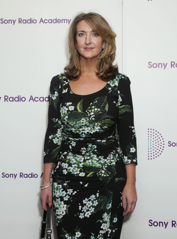 Victoria Derbyshire arriving for the Sony Radio Academy Awards, at Grosvenor House Hotel in central London.