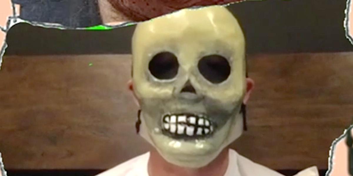 corey taylor skull mask