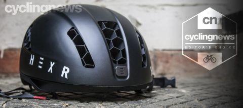 Hexr 3D-printed helmet