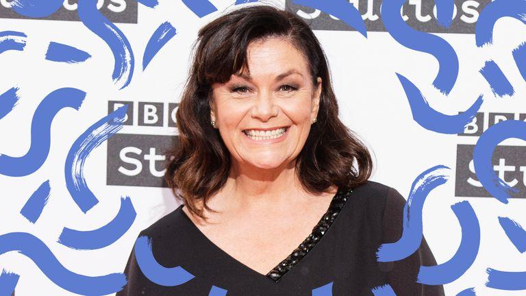 Dawn French at BBC awards