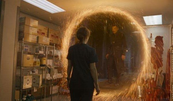 Doctor Strange portal sanctum hospital