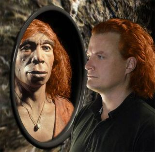 Redhead neanderthal