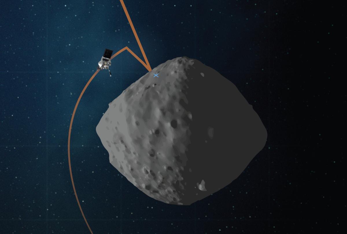 NASA's OSIRIS-REx spacecraft prepares for final asteroid-sampling rehearsal
