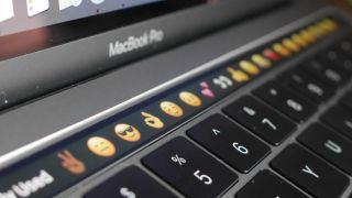 Apple touchscreen MacBook keyboard