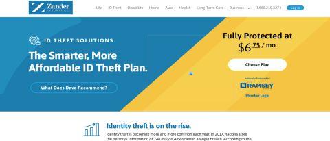 Zander Identity Theft Protection