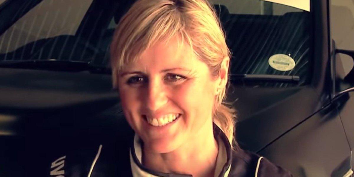 Sabine Schmitz in an interview