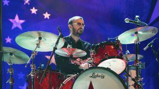 Ringo on stage
