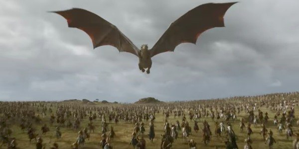 Drogon Game Of Thrones HBO