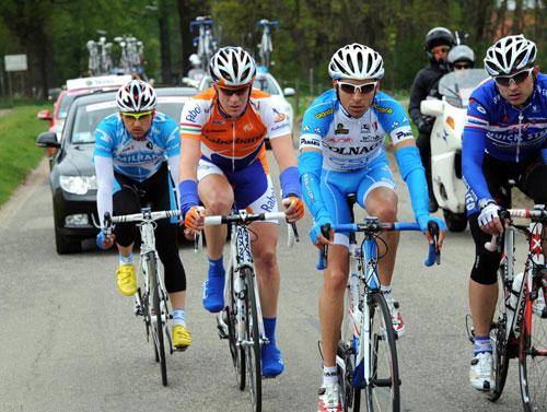 Escape group, Giro d'Italia 2010, stage 2