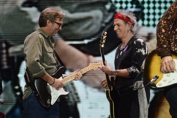 Eric Clapton to Appear on Rolling Stones' New Blues Album