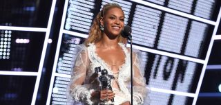 Beyonce during the 2016 MTV Video Music Awards