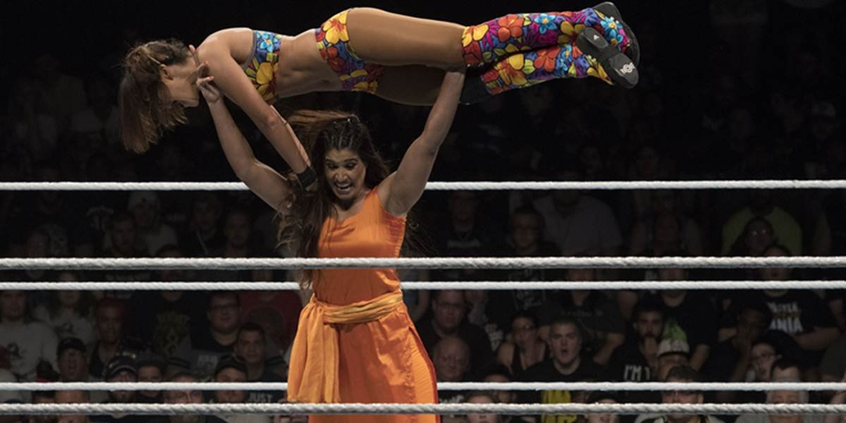 Kavita Devi on NXT